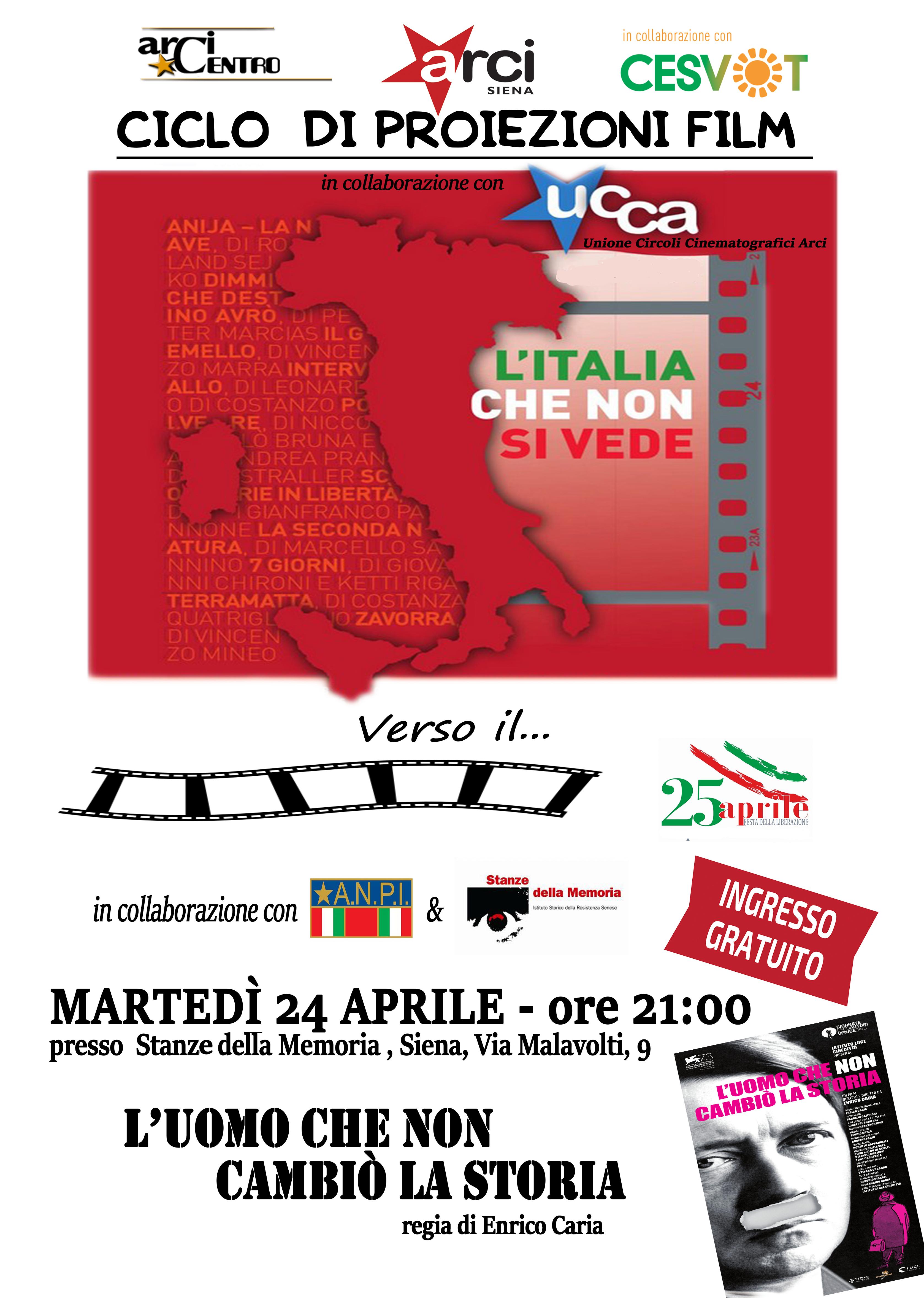 CineForum Arci Centro - 24 Aprile